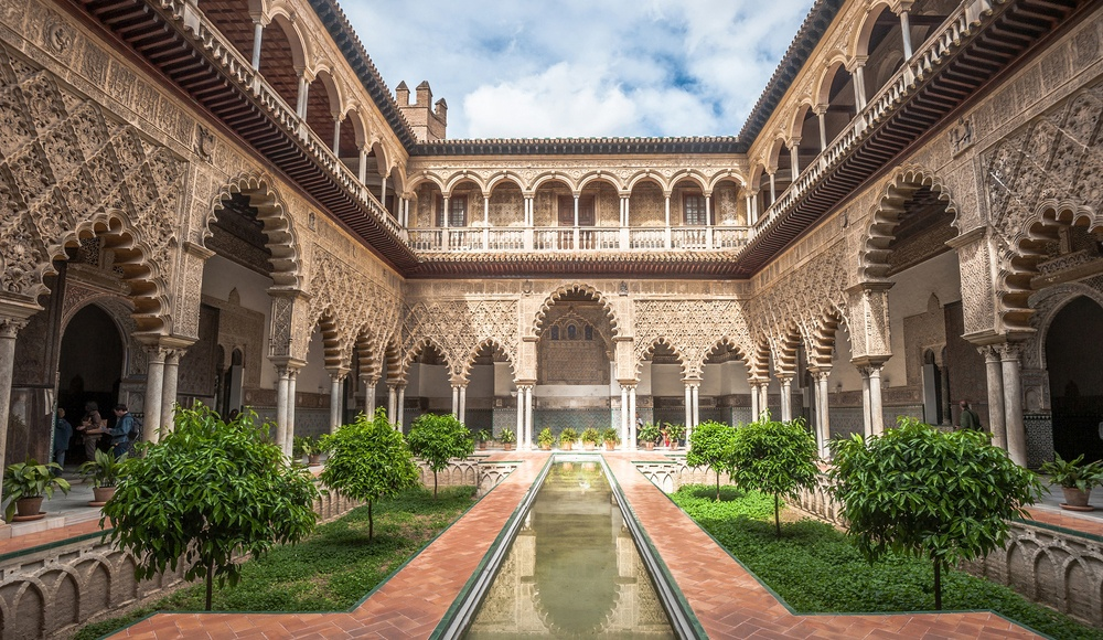 Spain is one of the world's leading MICE destinations. Its deep inventory includes unique venues such as the Alcazar of Seville shown here.