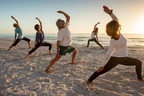 The JW Marriott Marco Island Beach Resort has many wellness and fitness activities and programs available including yoga on the beach, fitness classes, specialized spa treatments and more.