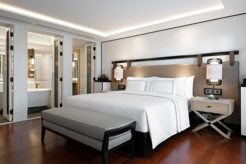 Photo of Bedroom, The Level President Suite, Melia Koh Samui.