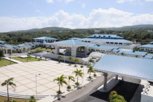 Aerial view of Montego Bay Convention Centre. Photo by Ken Williams.