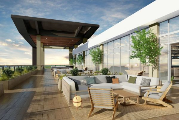 Rendering, Rooftop, JW Marriott Orlando Bonnet Creek Resort & Spa. Rendering courtesy of Marriott International.