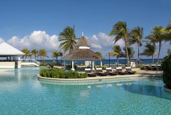 Image of pool, Melia Braco Village, Montego Bay Coast, Jamaica. Photo courtesy of Melia Hotels International.