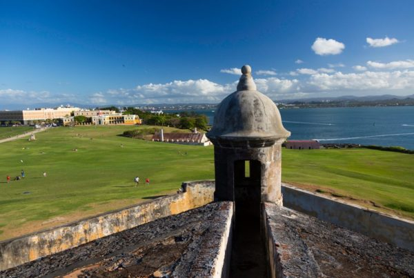 Castillo San Felipe del Morro, San Juan. Photo courtesy of the Puerto Rico Tourism Company.