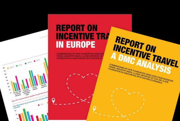 Image of SITE Foundation reports on DMCs and European incentive travel market. Image courtesy of SITE Global.