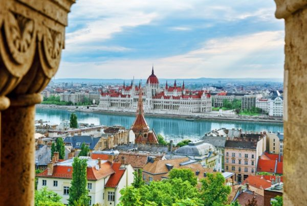 Budapest, Hungary. Panoramic view of the city from Fisherman Bastion. Photo by VitalyEdush   Canva.