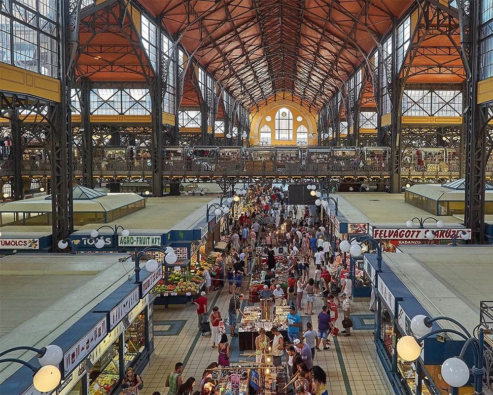 Budapest. Great Market Hall.