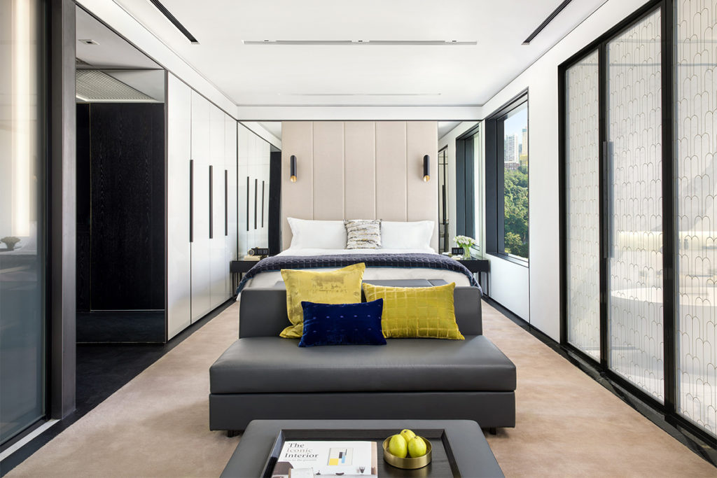 Leading Hotels of the World has added 12 properties to its portfolio. New members include The Murray Hong Kong. Image here shows deluxe guestroom at The Murray.