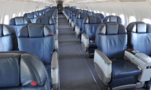 Air Canada Jetz will be used for commercial travel top popular winter destinations in Christmas 2020 and March Break 2021. Image of interior of Jetz aircraft courtesy of Air Canada.