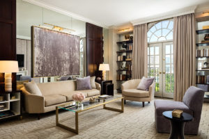Rosewood Mansion on Turtle Creek has completed renovating its 142 guestrooms and suites as well as its lobby. Photo courtesy of Rosewood Hotels & Resorts.