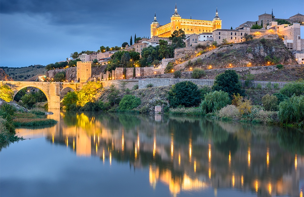 Spain is one of the world's leading MICE destinations. Its deep inventory includes castles such as the Alcazar of Toledo shown here.