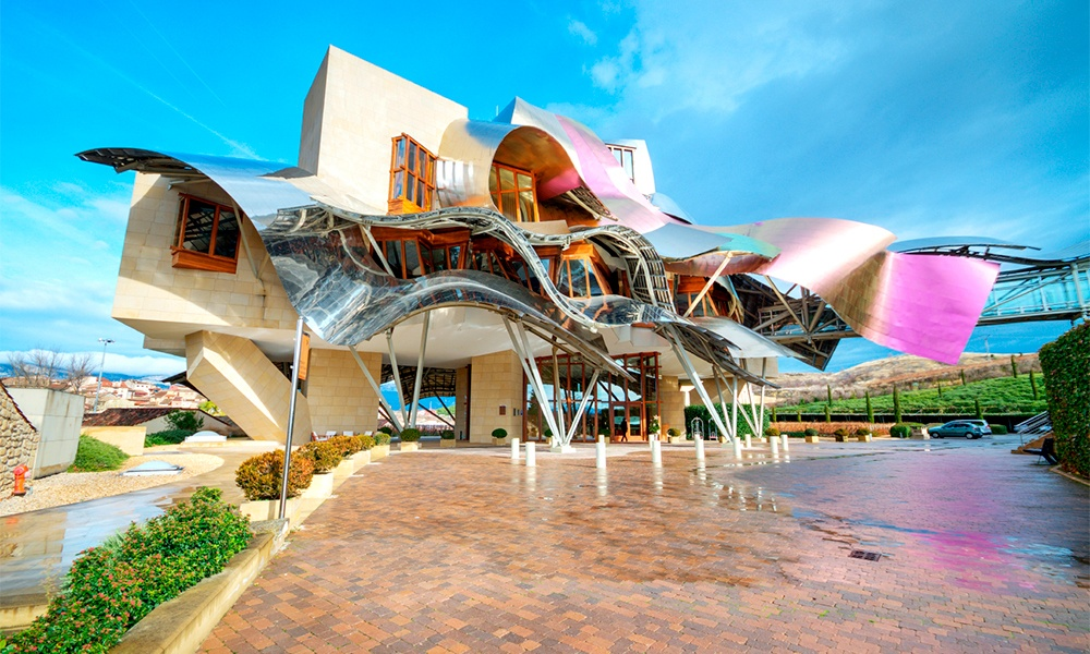 Spain is one of the world's leading MICE destinations. Its deep inventory includes wineries such as the Marques de Riscal shown here.