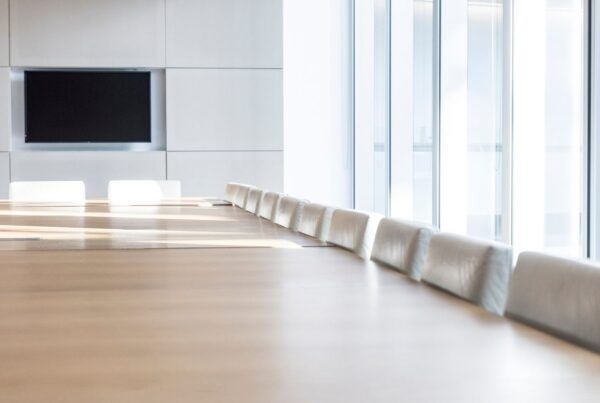 Incentive Research Foundation announces 2021 executive committee and board of trustees. Image of empty boardroom by Johnny Greig | Canva.