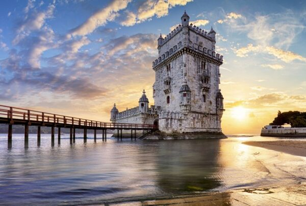 Lisbon is home to many unique monuments such as Belem Tower, shown here. Photo by Tomas Sereda/Canva.