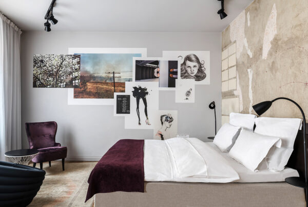 Hyatt's JDV Hotel brand will include three Swedish Story Hotel properties as of April 15, 2021. Image here shows guestroom at Story Hotel Riddargatan in Stockholm. Image courtesy of Hyatt.