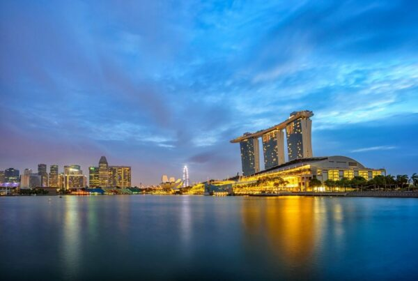 Inaugural IBTM Asia Pacific has been moved to 2022. The show will be held at the Marina Bay Sands (shown in this image) in Singapore. Photo by Netfalls   Canva.