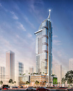 Accor will manage and operate the Legacy Hotel & Residences in Miami Worldcenter, a major development under construction in the city's downtown. Rendering courtesy of Accor and RPC.