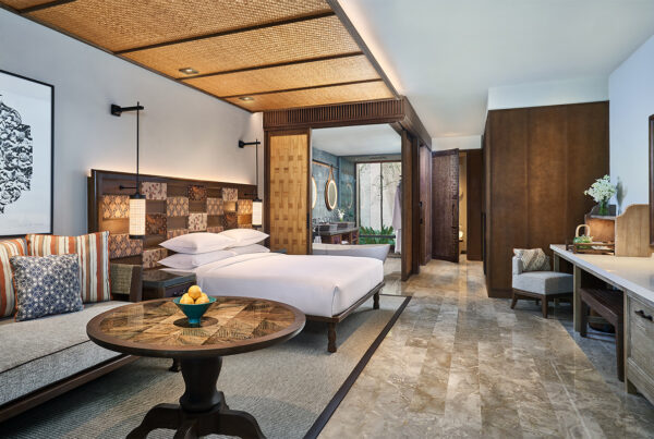 Andaz Bali deluxe guestroom. Photo courtesy of Hyatt.
