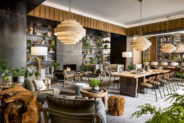 1 Hotel Toronto opens August 4, 2021. Image here shows the lobby of the property. Photo courtesy of SH Hotels & Resorts.