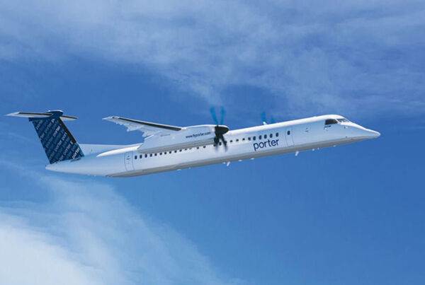 Porter Airlines will resume service on September 8, 2021. Image here shows one of the carrier's Dash 8-400 Turboprop Aircraft.